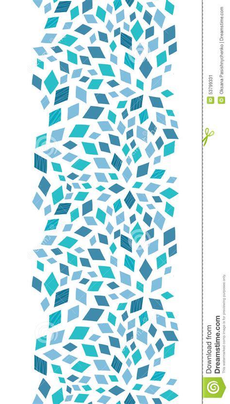 vertical layout web design vector blue mosaic texture vertical border stock vector