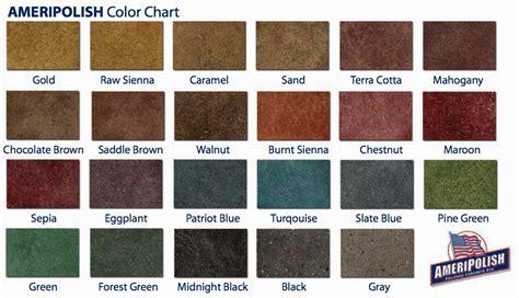 concrete acid stain color chart concrete acid stain color chart concrete acid stain 1