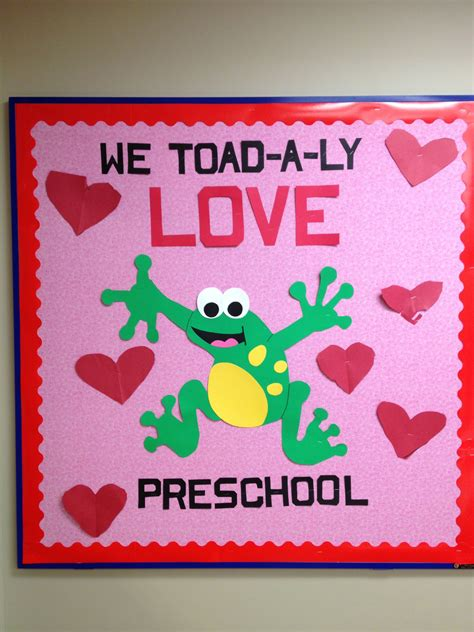 bulletin board ideas for valentines my valentines preschool board ideas