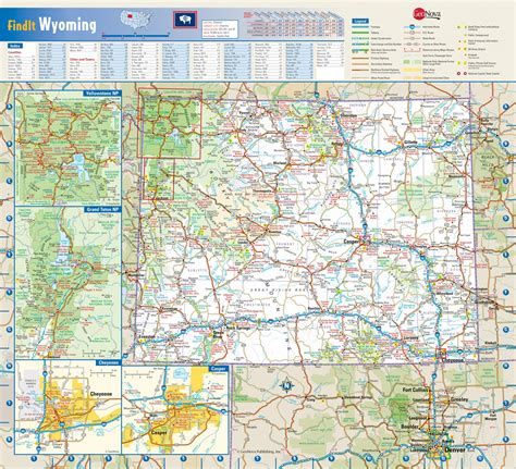 wyoming road map wyoming wall map maps