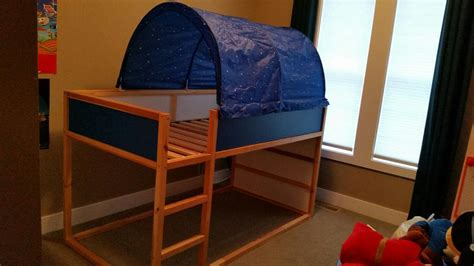 Ikea Reversible Bunk Bed Ikea Reversible Loft Bunk Bed With Canopy Maple Bay