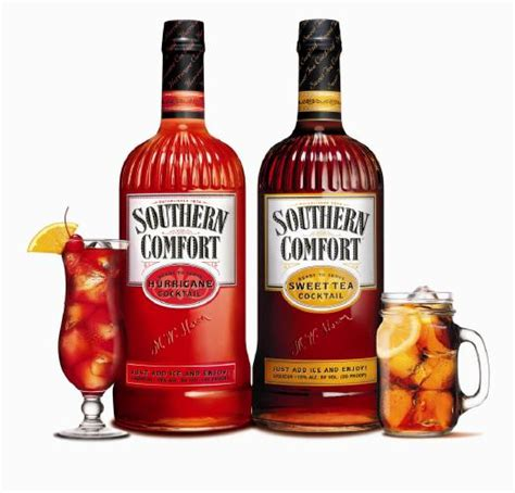 mixers for southern comfort review southern comfort sweet tea and hurricane cocktails
