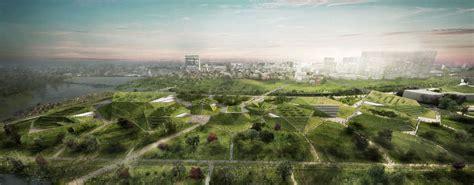 Landscape Architecture Korea Azpml Proposes Masterplan For Sejong National Museum