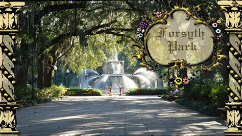 Savannah Wedding Locations   Forsyth Park