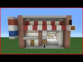 How To Build A Shop Minecraft Tutorial How To Make A Barber Shop Youtube