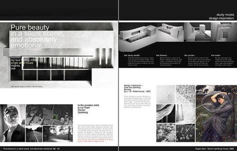 contoh layout portfolio architecture portfolio 9 10