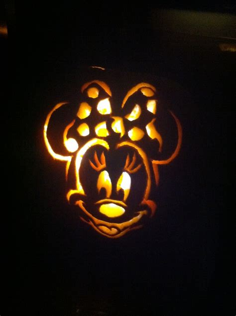 minnie mouse template for pumpkin carving minnie mouse pumpkin halloweenie