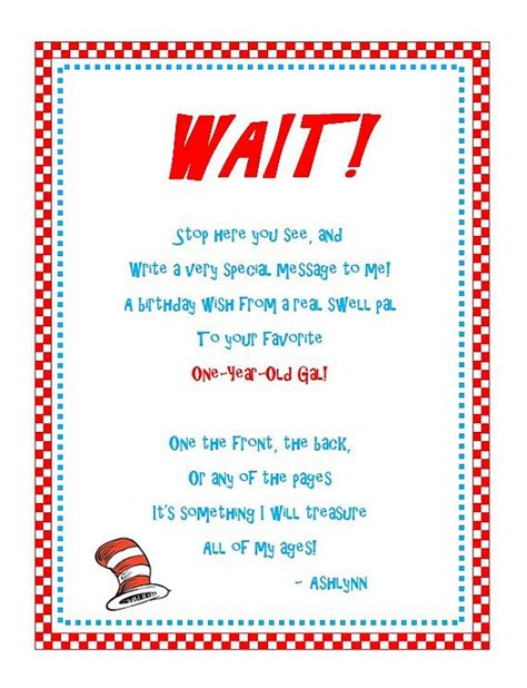 Dr Seuss Baby Shower Poems by 203 Best Images About Macy S 1st Birthday On
