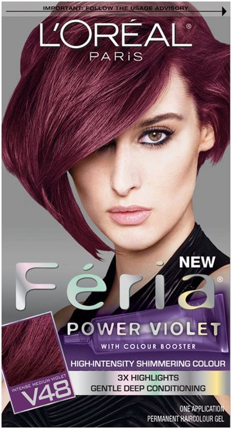 how to find the right loreal feria hair color ehow l or 233 al paris 174 feria 174 multi faceted shimmering color v48