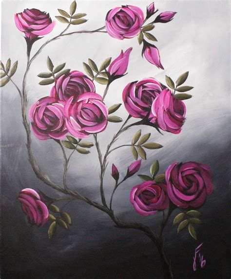 acrylic painting for beginners step by step best 25 how to paint roses ideas on how to