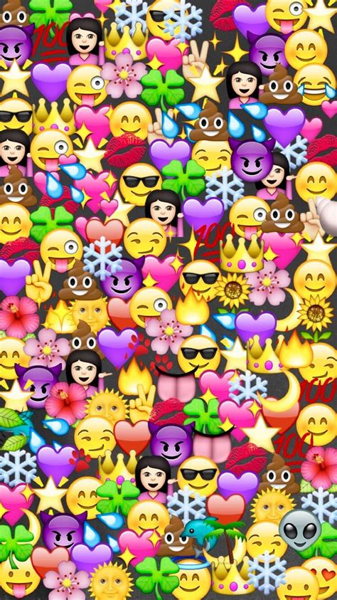 Emoji Wallpaper Iphone All Hp El Cat 225 Logo Global De Ideas