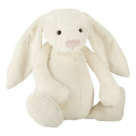 buy jellycat really big bashful bunny soft toy cream