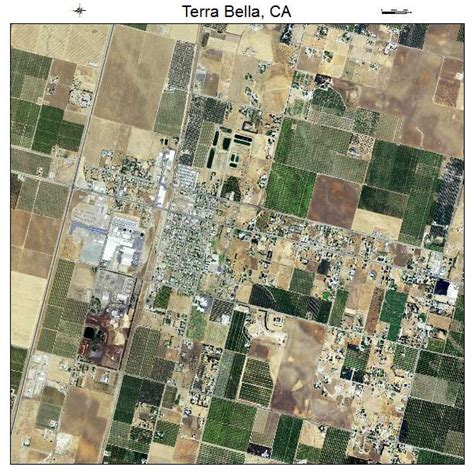 terra bella ca aerial photography map of terra bella ca california