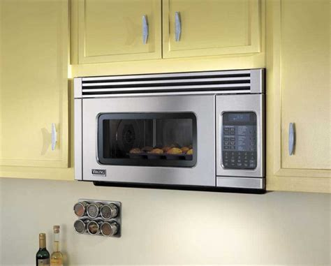 built in microwave with exhaust fan viking vmor205ss 1 1 cu ft over the range microwave oven
