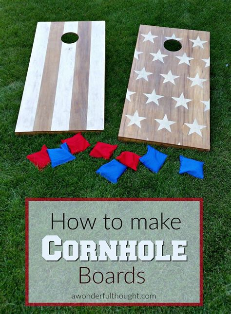 diy bean bag toss diy boards diy boards diy