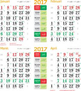 Kalender 2018 Lengkap Vektor Toko Fadhil Template Kalender 2017 14 2017 14