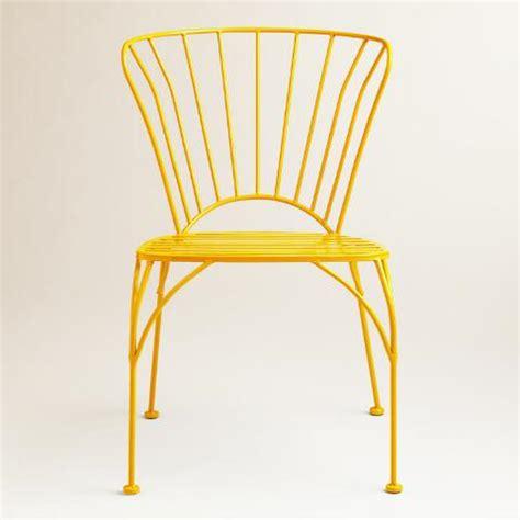 world market metal chairs golden rod cadiz metal chairs set of 2 world market