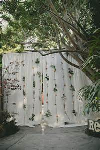 wedding backdrop of flowers flower backdrop the diy wedding project