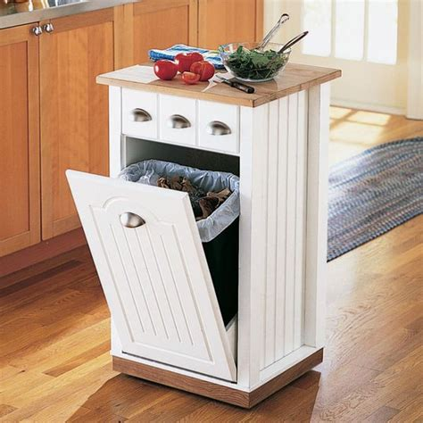 25 best ideas about kitchen trash cans on trash can cabinet cabinet trash can diy