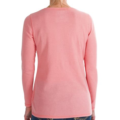 long sleeve thermal shirts for women wrangler thermal henley shirt for women 9165r save 47