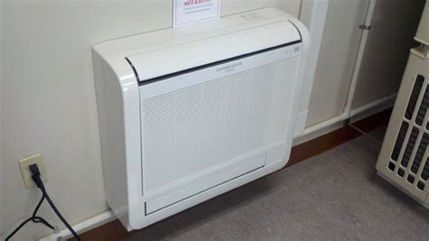 mitsubishi mini floor unit heat pumps is it the right and air