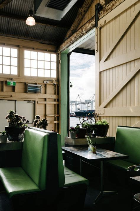 B Shed Quay by Cafe Restaurant Interior On Restaurant