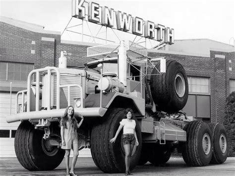 old kw trucks kenworth 1959 963 6x6 old trucks pinterest boys