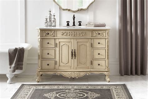 vintage style bathroom vanity shop bathroom vanities vanity cabinets at the home depot