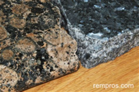 Which Countertop Is Typically The Least Expensive - granite vs laminate kitchen countertop comparison chart