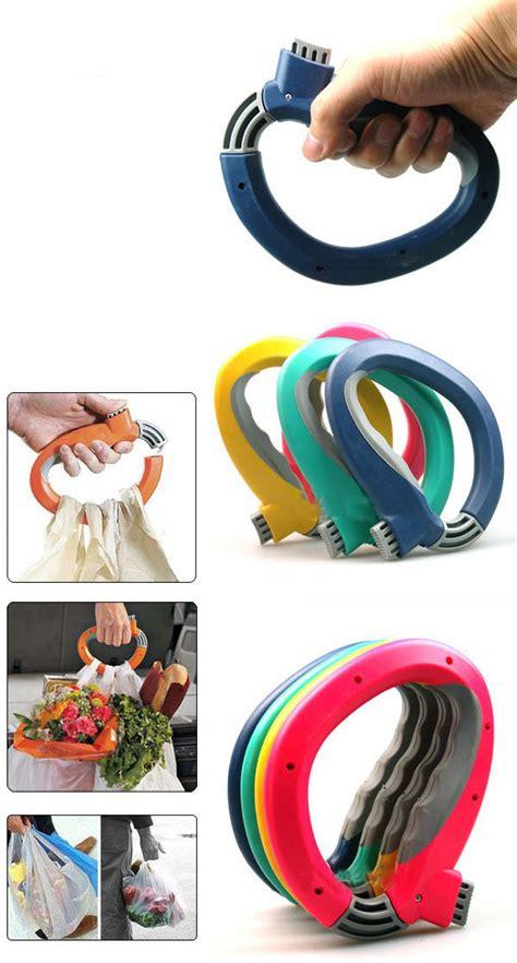 One Trip Grip Pegangan Kantong Plastik trip grip alat membawa belanja dalam satu genggaman 379 barang unik china barang unik