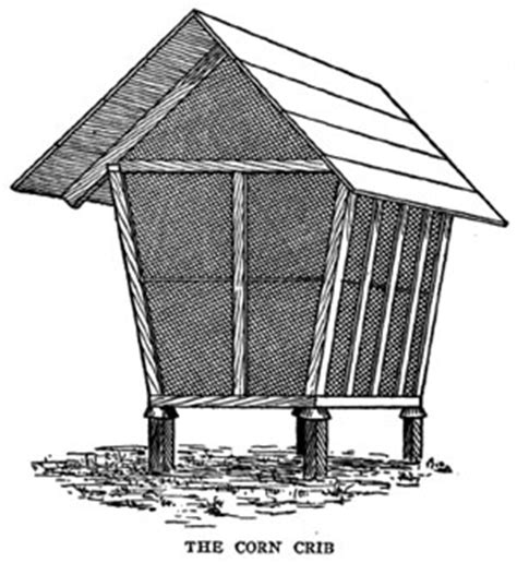 Corn Crib Plans by Handy Farm Devices Cobleigh Chapter 9