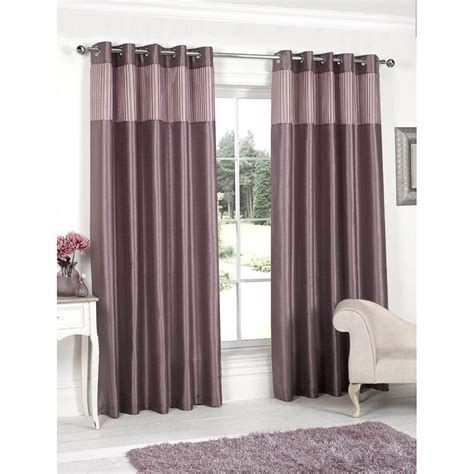 new pleated top border curtains faux silk fully lined pleated top border fully lined curtain curtains b m