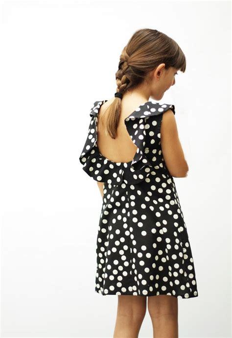 Dress Kid Ursula Polka motoreta ss15 pluto dress polka dot black lookbook motoreta clothing