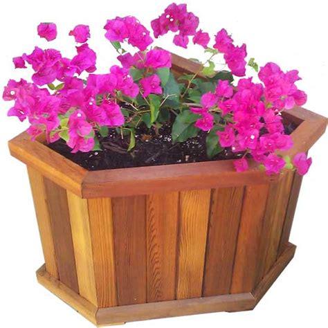 Corner Planter Box by Cedar Planter Box 18 Quot X 18 Quot X 18 Quot With Notched Corner