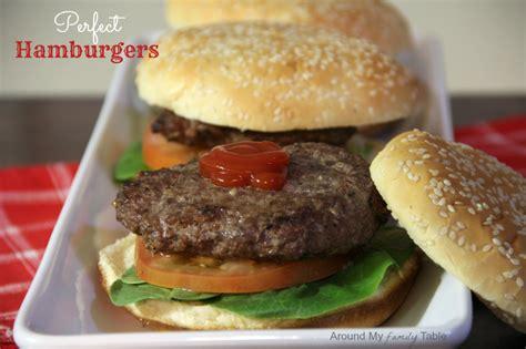 Handmade Hamburgers - hamburgers amft