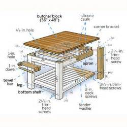 how to build a simple kitchen island how to build a butcher block counter island diy kitchen