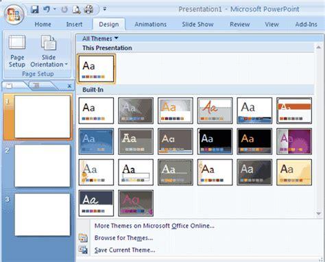 browse for themes powerpoint 2007 ปร บแต งพร เซ นเทช นให สวยใน powerpoint 2007