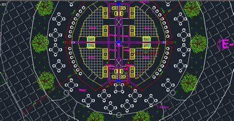 Fast Food Restaurant 2D DWG Design Elevation for AutoCAD