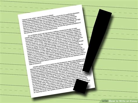 How To Write An Essay With Pictures Wikihow by How To Write An Essay With Pictures Wikihow