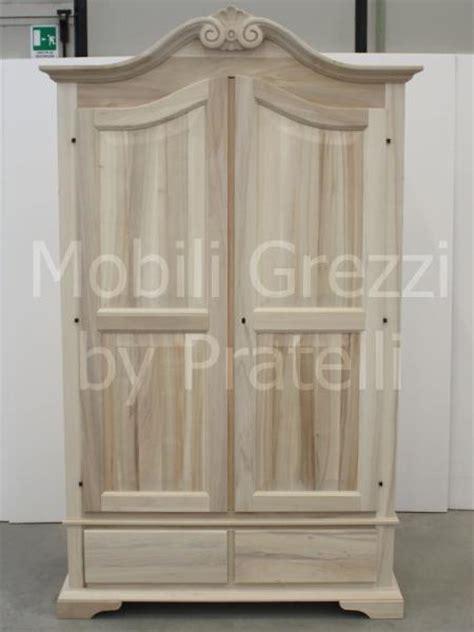 armadio legno grezzo armadi grezzi armadio 2 ante grezzo cappello intagliato
