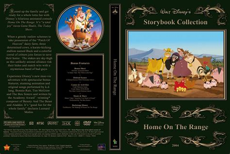 home on the range dvd custom covers home on the