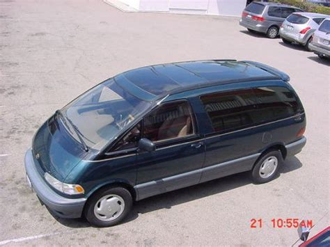 Toyota Previa 1996 1996 Toyota Previa Photos Informations Articles