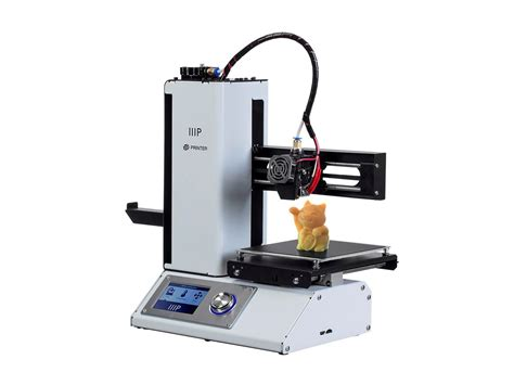 Printer 3d Mini mp select mini 3d printer v2 white monoprice