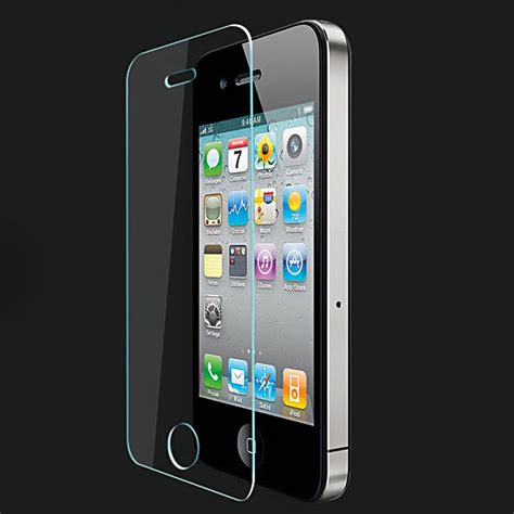 Tempered Glass Iphone 4 feye premium quality tempered glass screen protector for apple iphone 4 4s