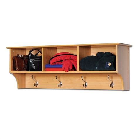 coat rack and bench set prepac sonoma maple cubbie bench and wall coat rack set