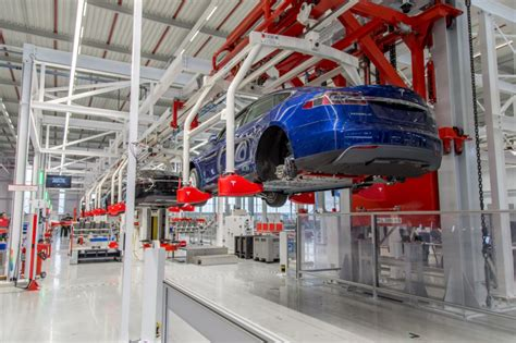 tesla factory netherlands tesla s factory to production for model s and