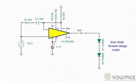 laser diode anode and cathode 2 ere cathode grounded laser diode driver youspice