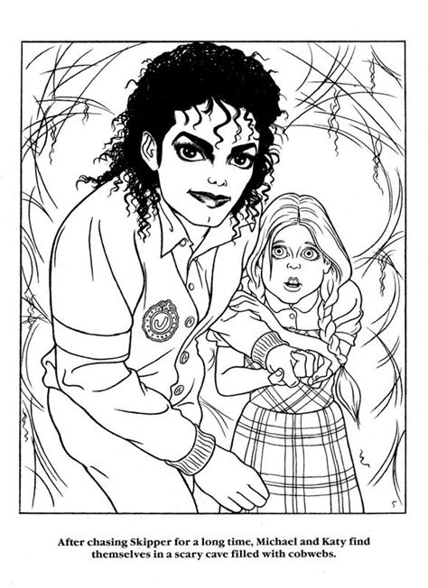 michael jackson coloring book coloring home