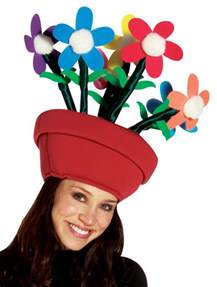 flower pot hat costume craze