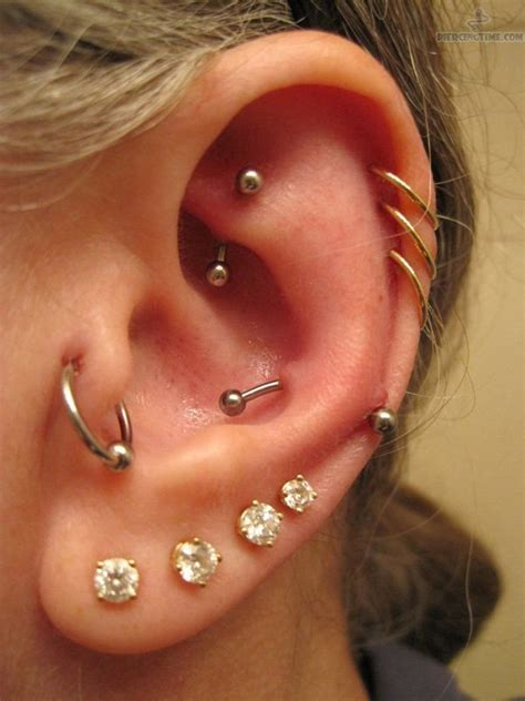ear piercing 65 ear piercings styles to step up your